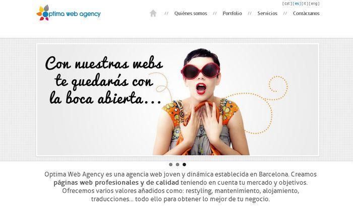 Optima web agency