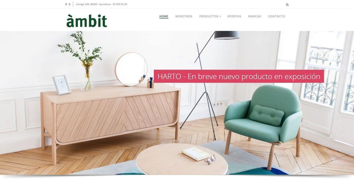 Negozio di mobili e divani in Barcelona